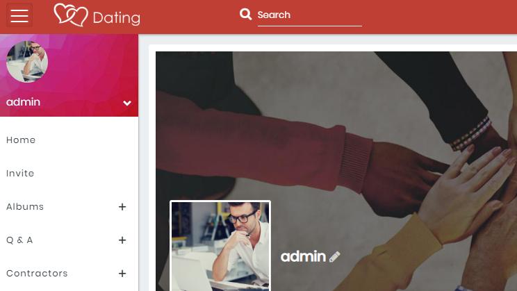 SocialEngine Dating thème haut singles Dating site