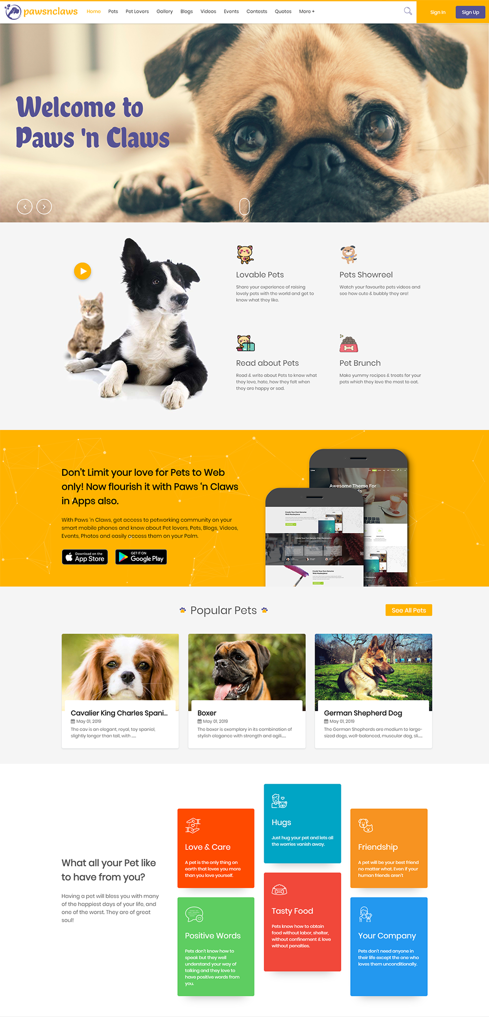 SocialEngine Pet Community Solution