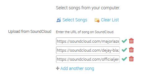 Integration with SoundCloud