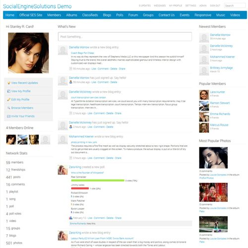Responsive Clean Wide Theme