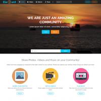 Elegant Media   Landing Page