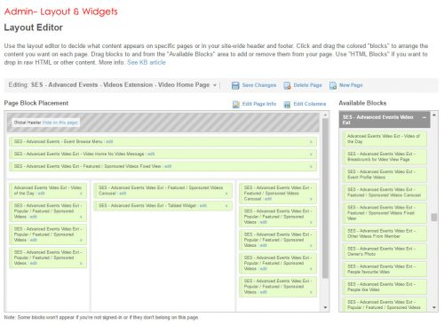 Admin- Layout & Widgets