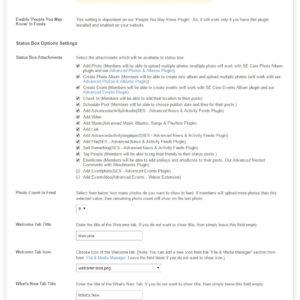 Admin: Admin Global Settings