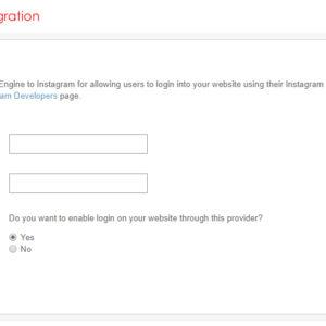 Admin: Instagram Integration