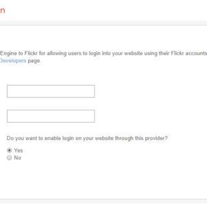 Admin: Flickr Integration