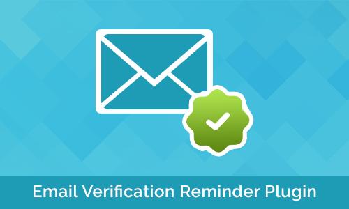 Email Verification Reminder Plugin