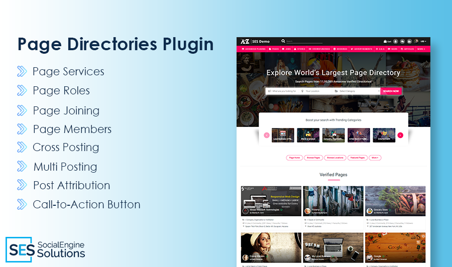 Advanced Features of Page Directories Plugin with new Enhancements!