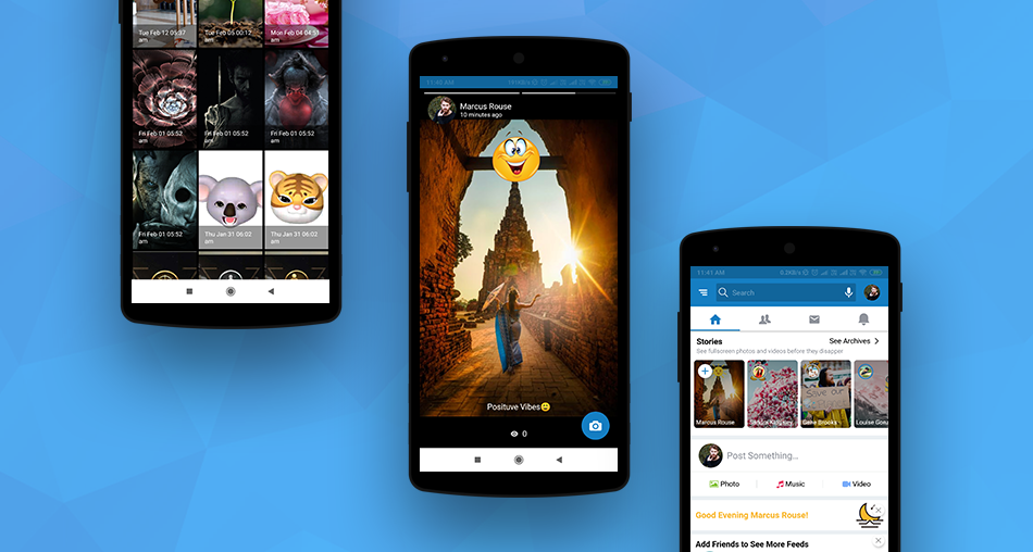 Stories Feature in Android Mobile Apps