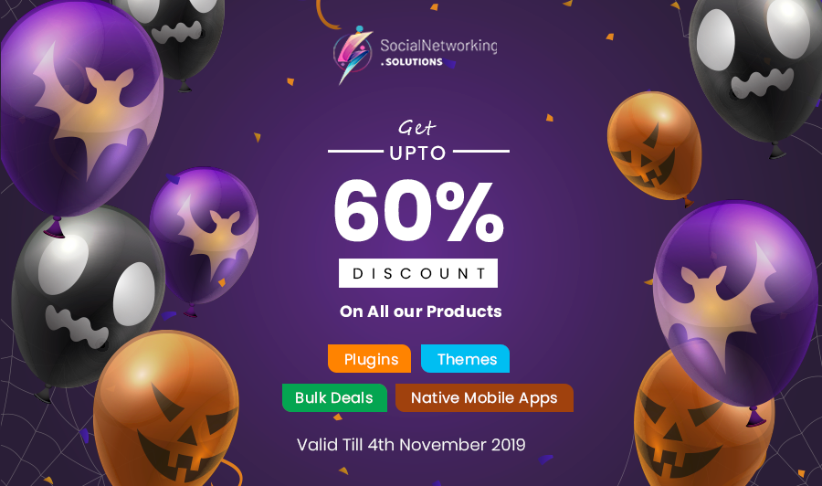 Halloween Discount Upto 60%-OFF