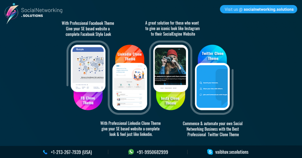 Best 4 SocialEngine Clone Scripts for making your Social Networking website