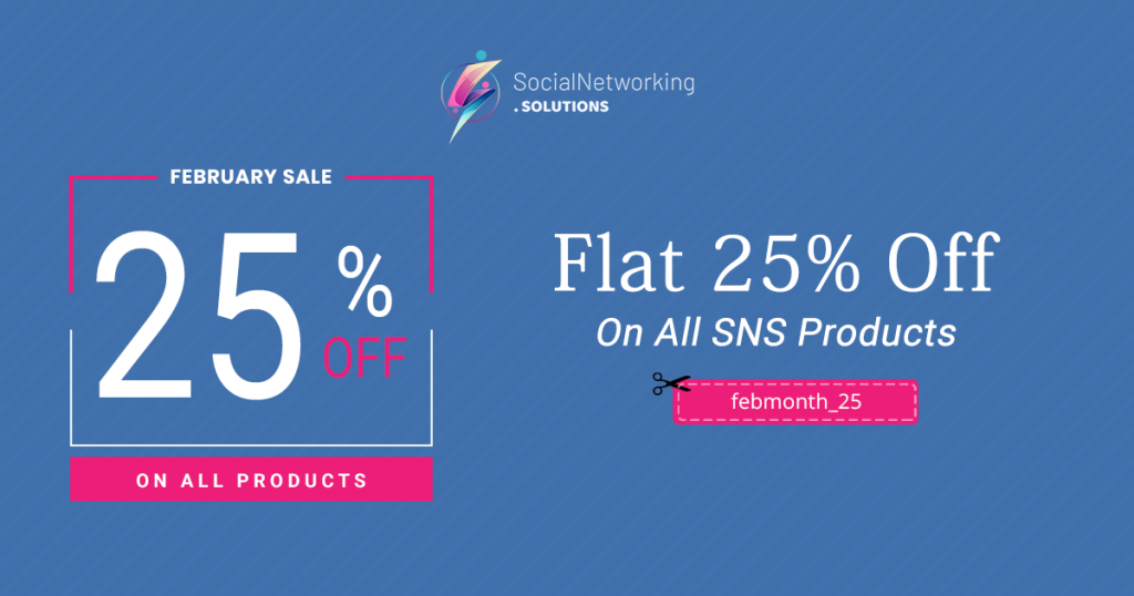Feb Month Offers - Flat 25% Off on All SNS Products
