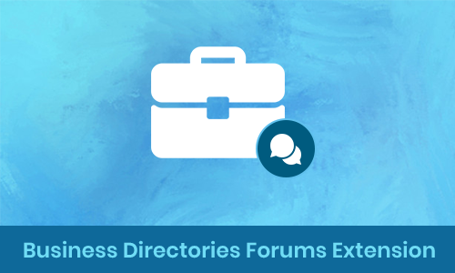 Business Directories Forums Extension