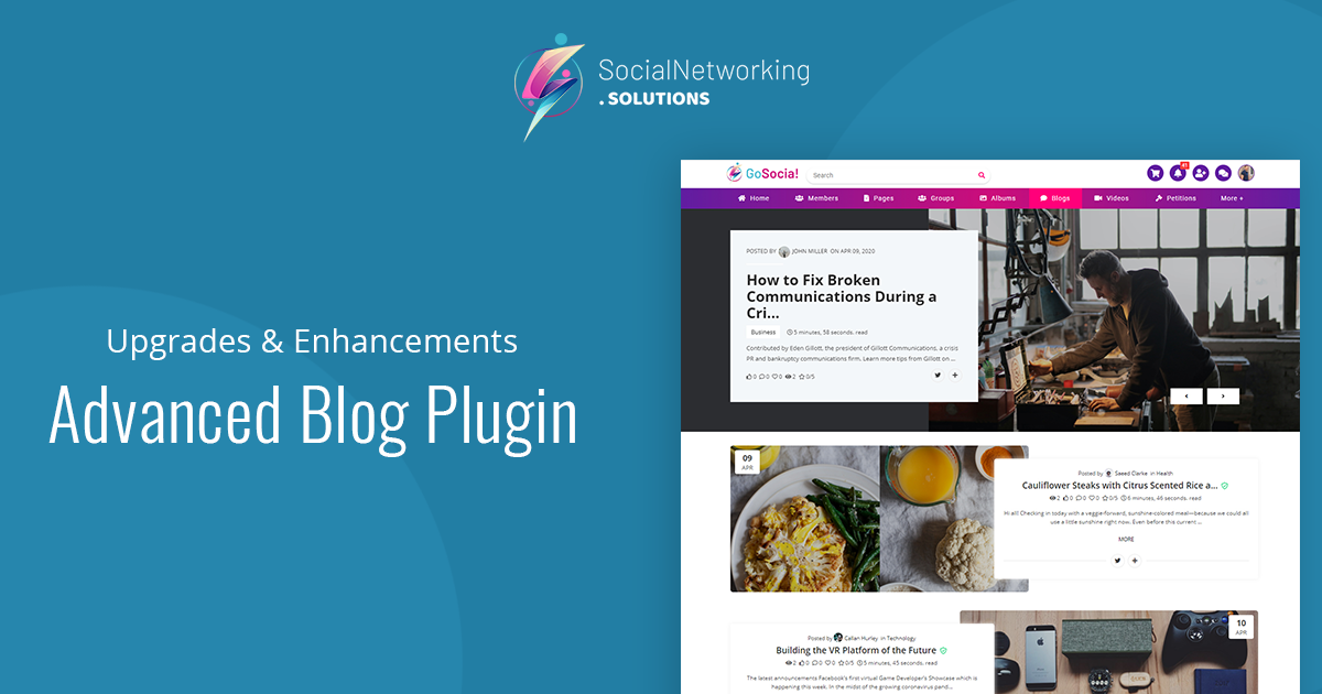 Major Upgrades & Feature Enhancements in Advanced Blog Plugin