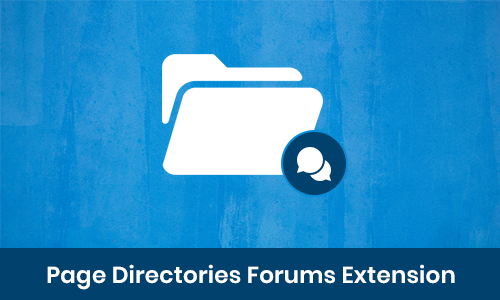 Page Directories Forums Extension