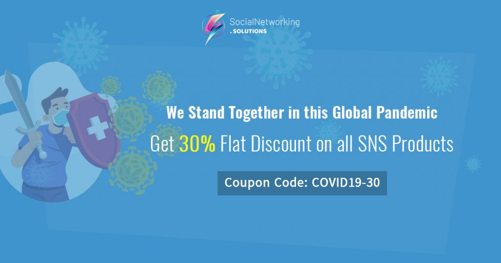 Get 30% Flat Discount on all SNS Products