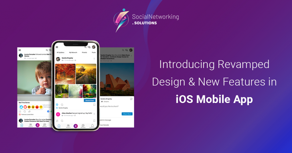Introducing Revamped Design & New Features in iOS Mobile App