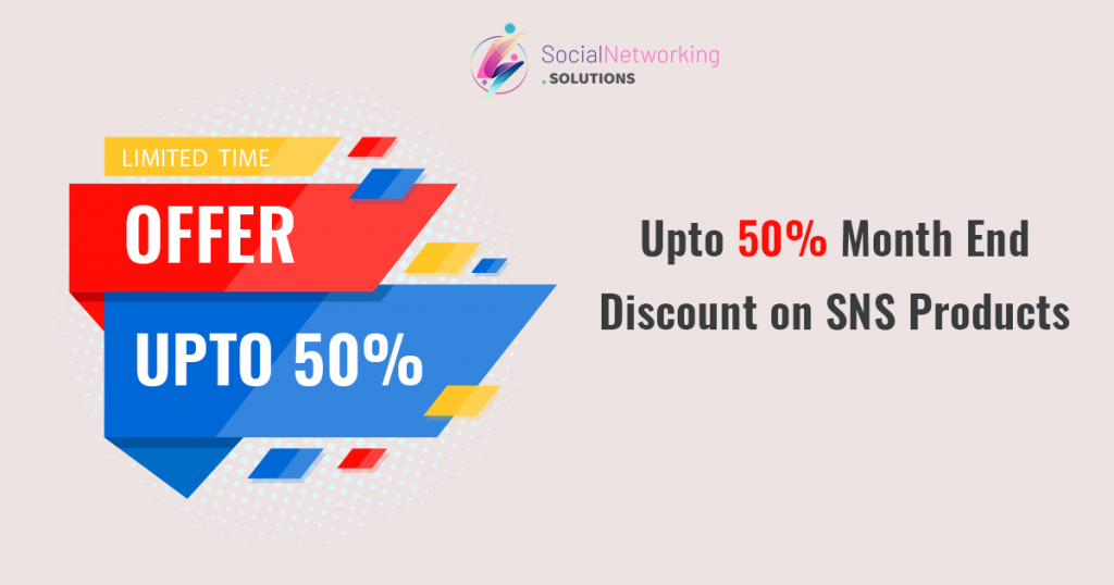 Upto 50% Month End Discount on SNS Products – May 2020