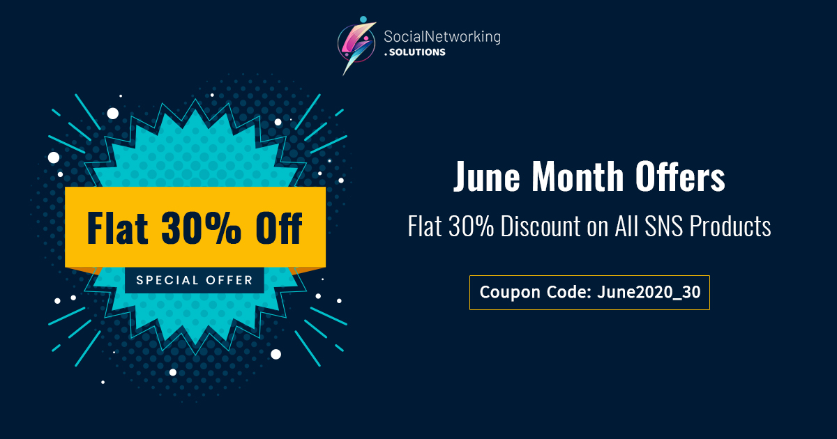 June Month Offers - Flat 30% Discount on All SNS Products