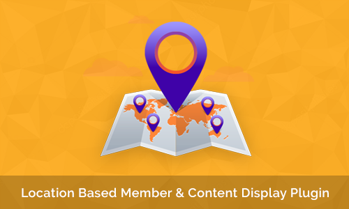 Location Based Member & Content Display Plugin
