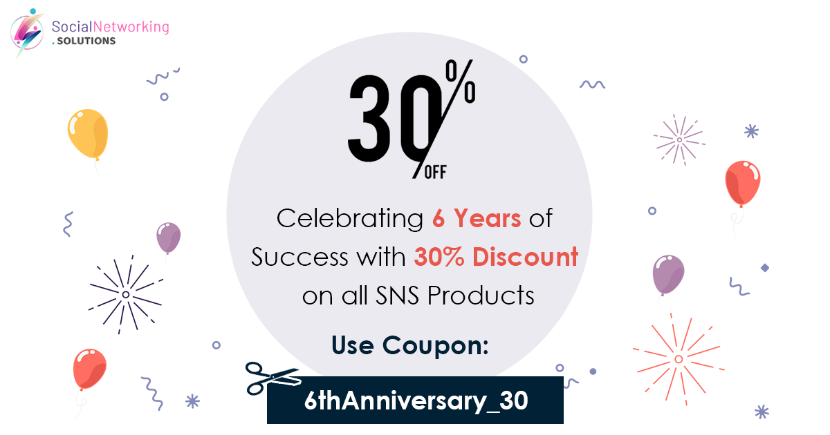 Celebrating 6 Years of Success with 30% Discount on all SNS Products