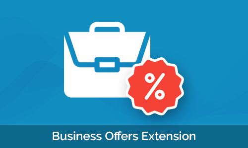 Business Offers Extension