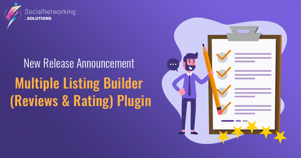 F:\Work\SocialEngine Solutions\Blog Posts\New Release Announcement - Multiple Listing Builder (Reviews & Rating) Plugin