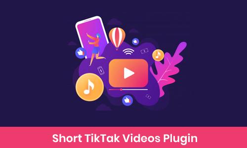 Short Tiktak Videos Plugin