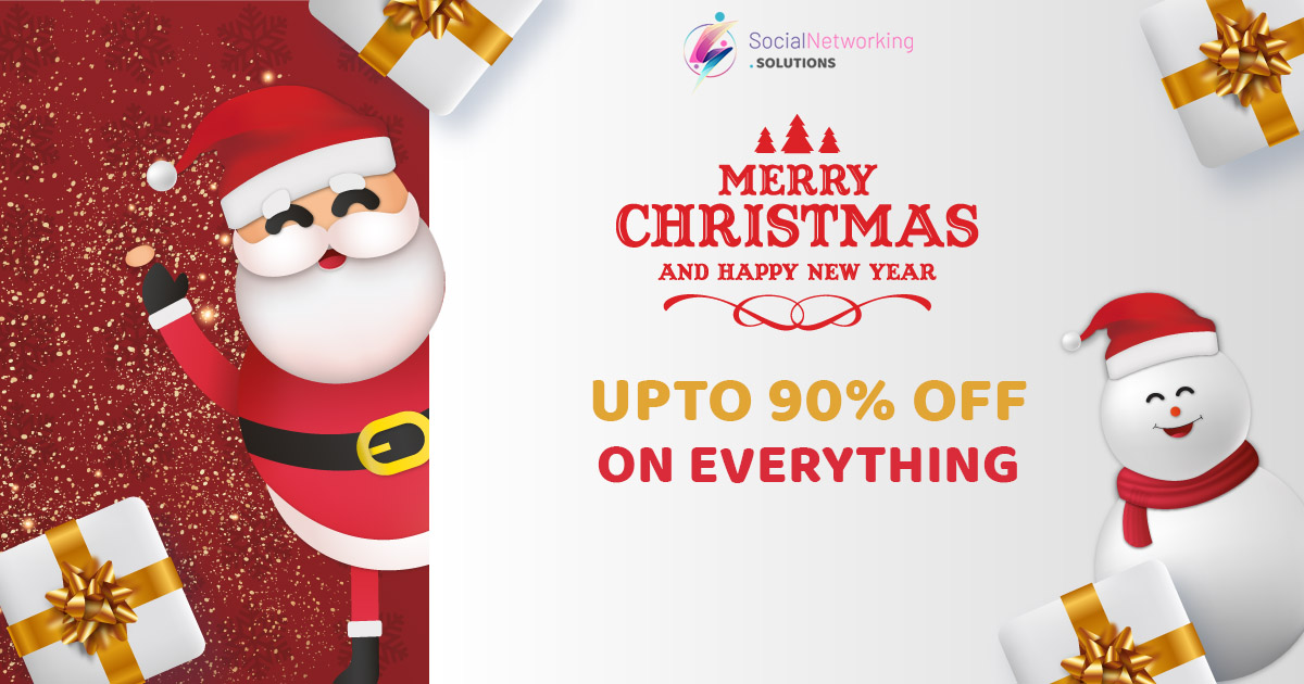 Celebrate Christmas & New Year 2021 with Upto 90% OFF on Everything