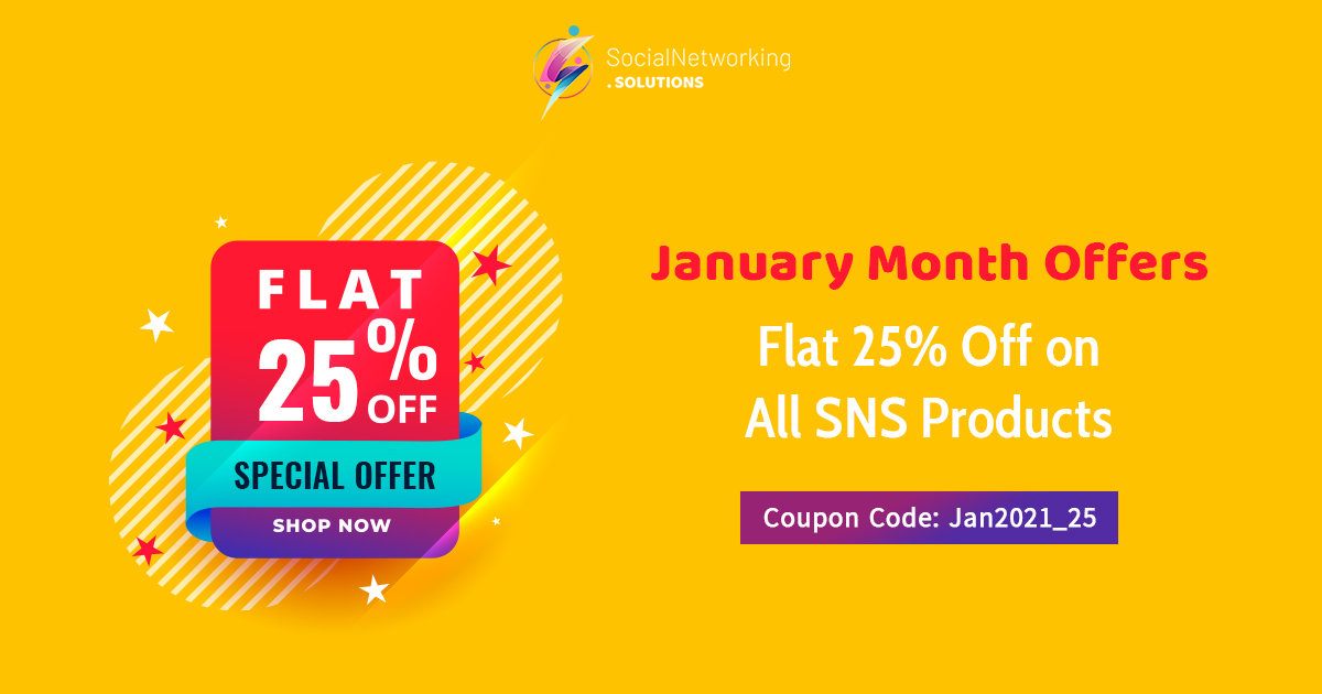 January Month Offers – Get Flat 25% Off on All SNS Products