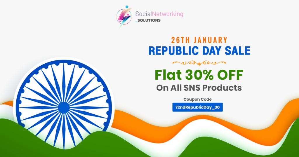 Republic Day Offers 2021 – Get Flat 30% OFF On All SNS Products