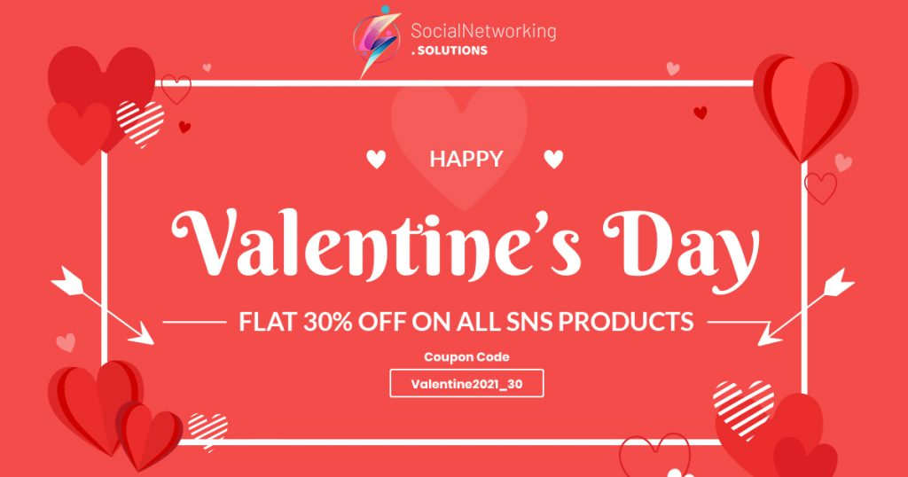 Valentine's Day Offers 2021 – Flat 30% Discount on All SNS Products