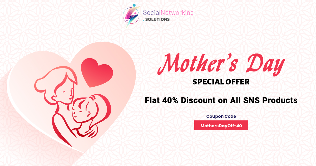 Mother's Day Special – Flat 40% Discount on All SNS Products