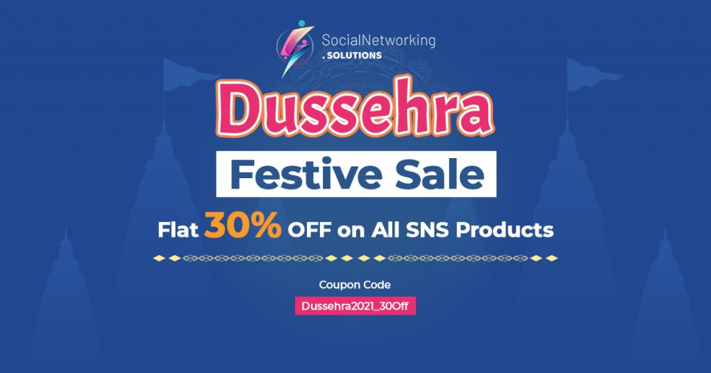 Dussehra Festive Sale – Flat 30% OFF on All SNS Products